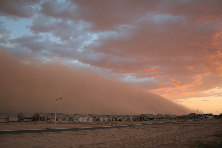 Dust Storms Latest Weather Risk