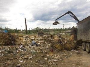 Alabama storm debris removal continues