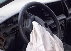 airbag opened