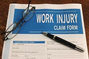 work injury claim form