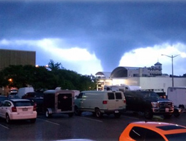 A tornado caused over $4.3 million in damages in Hampton, Va., last Friday. Photo credit: the city of Hampton website