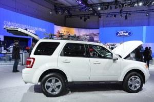 Ford Escape most stolen SUV