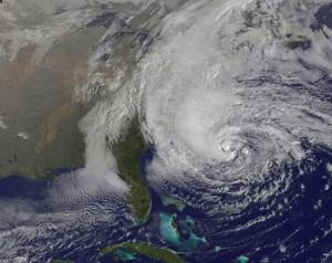 Hurricane Sandy. Credit: NASA GOES Project