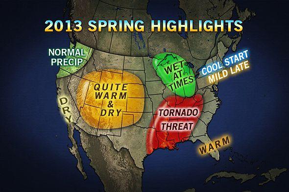 Accuweather.com 2013 Spring Forecast