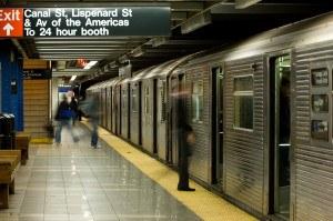 New York City subway platform