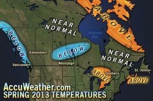Accuweather.com 2013 Canada Spring Forecast