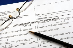 workers' compensatiion first report of injury form