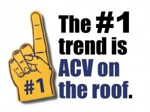 According to our interviews, the most common current solution to the roof problem.