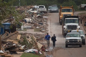 Moore, Okla., area was struck by a F5 tornado on May 20, 2013. Andrea Booher/FEMA