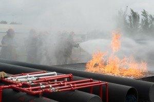 Resolve Deck Fire 1