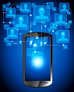 mobile access to social media