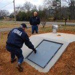 Arkansas storm shelter. Photo: Charles S. Powell/FEMA