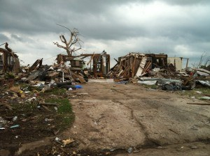 Tornado destruction in Moore, Oklahoma.Photo: Enservio