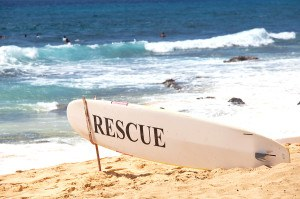 Hawaii rescue post