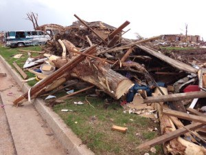Oklahoma tornado devastation. Photo: Enservio