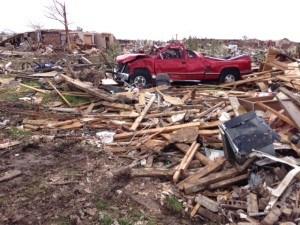 Tornado devastation in Oklahoma. Photo: Enservio