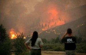 Elk Complex Fire, Idaho. Photo: inciweb.org