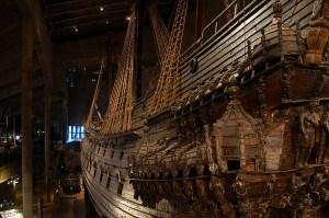 Ancient Ship At Vasa Museum