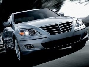 2009 Hyundai Genesis. Photo: Hyundai
