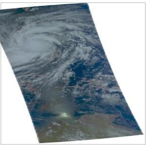 Ssuper typhoon Haiyan. Image credit: NASA/JPL-Caltech
