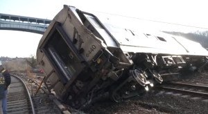 NY Metro-North derailment. Photo: NTSB