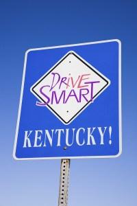 Drive Smart Kentucky sign