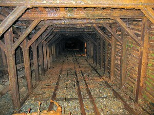 Empire Mine shaft. Photo: California Department of Parks and Recreation.