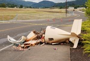 experimental plane crash