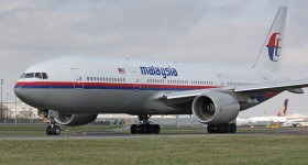 B777 Malaysia Airline