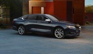 GM 2014 Impala. Photo: GM