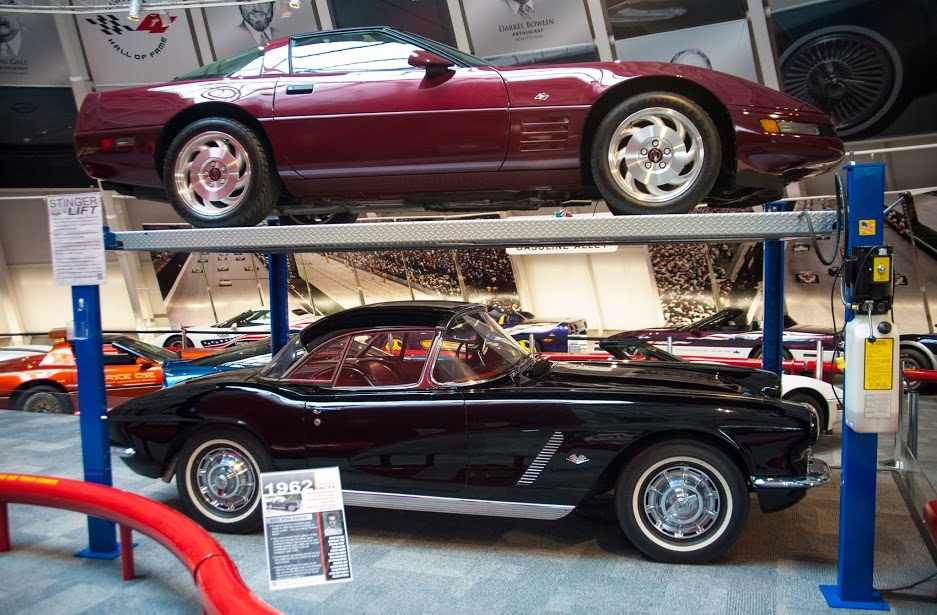 National Corvette Museum >> Before And After National Corvette Museum