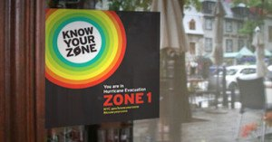 Know Your Zone campaign. Image: NYC OEM