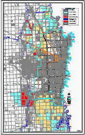 Fargo flood plain map: Image credit: City of Fargo