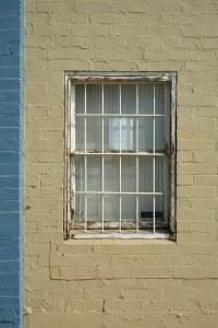 security bars on window