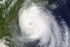 National Hurricane Center (2014, July 2) Tropical Storm Arthur. NASA MODIS image courtesy Jeff Schmaltz, LANCE/EOSDIS MODIS Rapid Response Team at NASA GSFC.