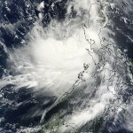 Typhoon Rammasun had already crossed the Philippines and entered the South China Sea as NASA's TRMM satellite passed overhead and captured this image. Image Credit:  NASA Goddard MODIS Rapid Response Team