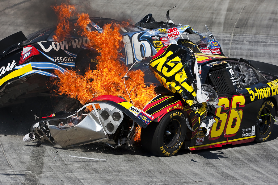 Drivers Barred From Exiting Cars After Wrecks by NASCAR