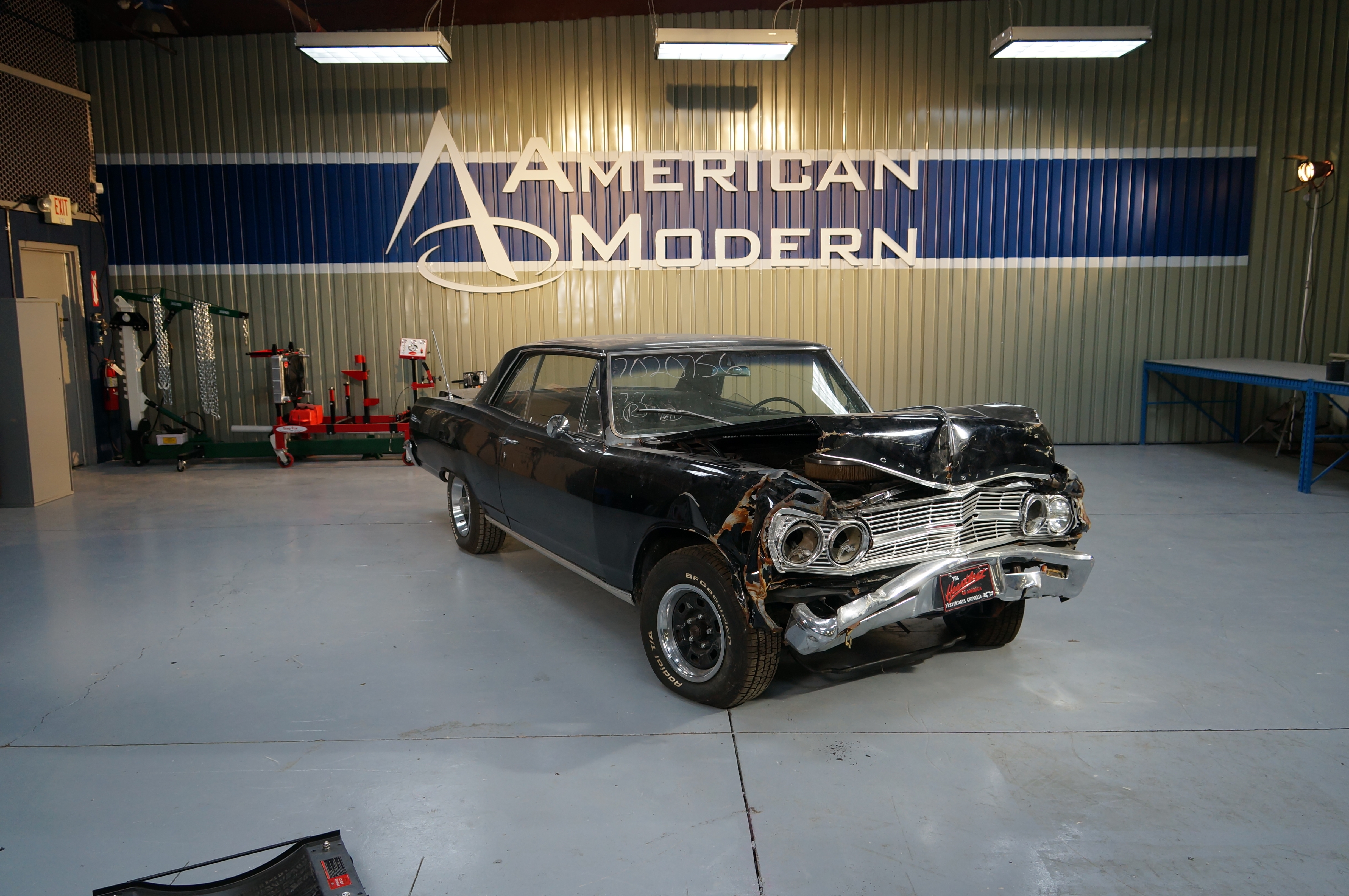 Before & After: 1965 Chevrolet Chevelle Malibu SS