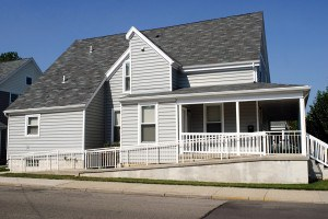 House with Wheelchair Ramp