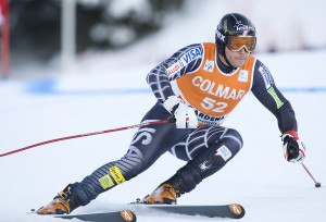 Alpine skiing race