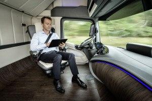 Mercedes-Benz Future Truck 2025. Photo: Daimler
