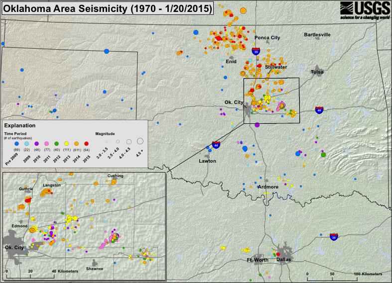 New Earthquake Hazard Maps for Oklahoma