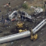 Scene of a deadly Amtrak train derailment, Wednesday, May 13, 2015, in Philadelphia.   (AP Photo/Patrick Semansky)