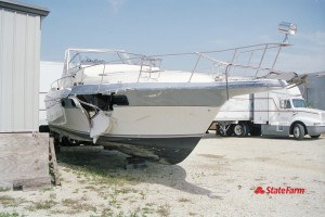 State Farm Releases Top Causes of Boat Damage and Urges Safety When on the Water. (PRNewsFoto/State Farm)