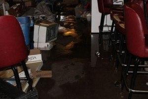 Skoogs Pub & Grill after fire. Photo: Rainbow International