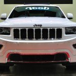 NONTHABURI - March 25: New Jeep Grand Cherokee on display at The 35th Bangkok International Motor show on March 25 2014 in Nonthaburi Thailand.