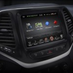 Jeep Cherokee infotainment system. Photo: FCA US LLC