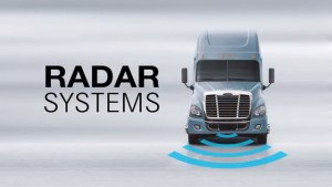 Cascadia Detroit Assurance Integrated Safety System. Photo: Freightliner