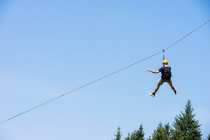 Study reveals zip line popularity injuries soar about 30 percent were from zip lines in backyards or farms these are sometimes do it yourself kits bought online may be improperly solutioingenieria Images