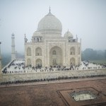 Google Street View of the Taj Mahal. Photo: Google